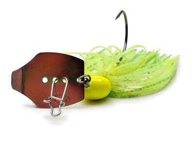 Phenix Baits Vibrator Jig // Chatter Blade Swim Jig 3//8 oz Big Fish Delight