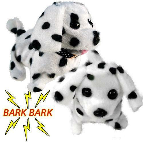 USA SELLER DOG NEW BATTERY OPERATED BARKING WALKING WAGGING CUTE PUPPY DOG TOY.