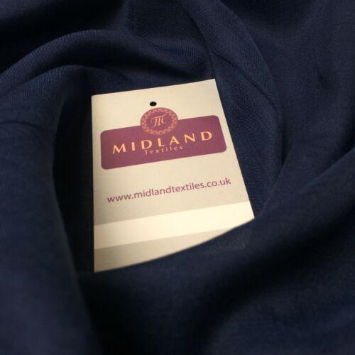 """ideal para cortinas y confección 44/"""" M718 Gasa Pura Poly-suave ligera"""