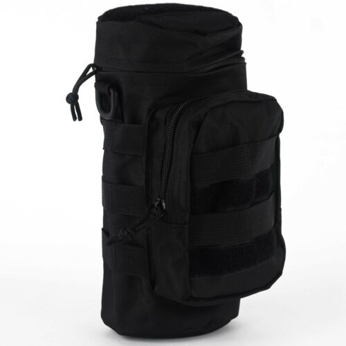 Outdoor Tactical Gear Military Molle Water Bottle Bag Kettle Pouch Mess Pouch