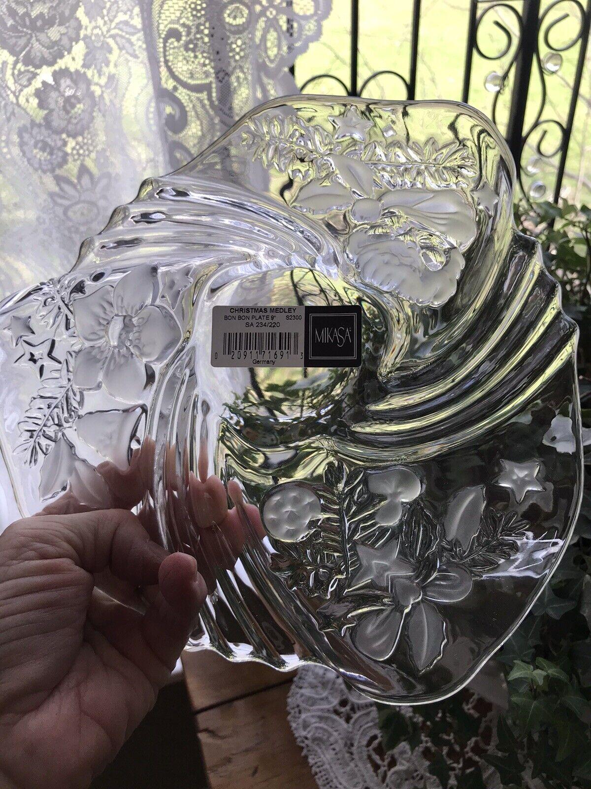 ! nuevo! Mikasa Vacaciones Estilo Bon Bon placa 9