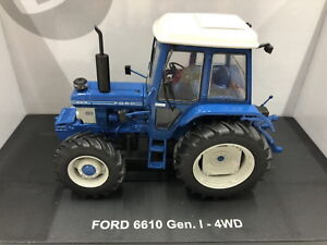 Universal-Hobbies-1-32-Ford-6610-Gen-1-4wd-tractor-Diecast-Model-NIB-UH5367