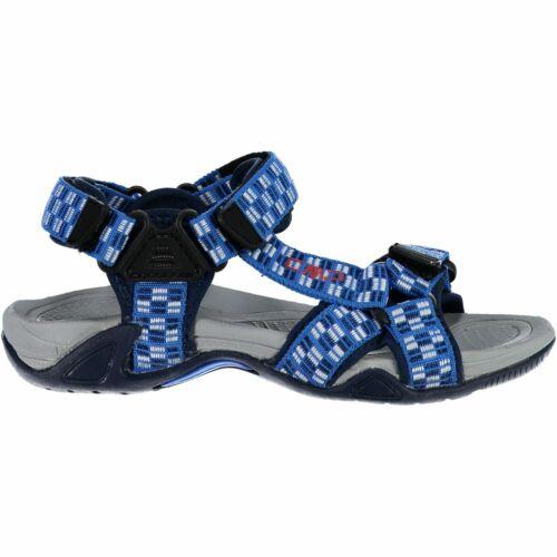 CMP Wanderschuhe KIDS HAMAL HIKING SANDAL blau geometrisch Textil