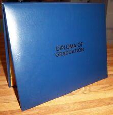 Diploma of Graduation PADDED DOCUMENT FOLDER