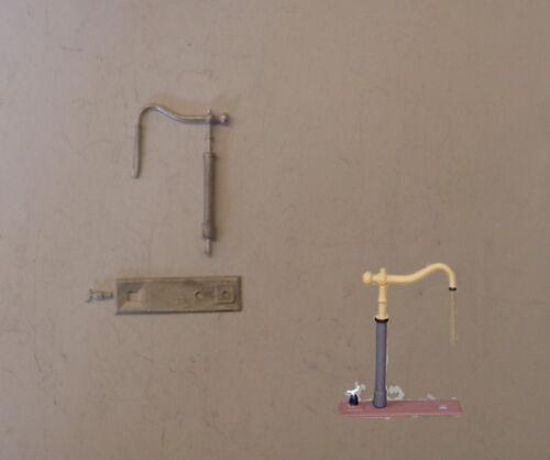 P/&D Marsh N Gauge n Scale B103a MR w//crane ground mount kit requires painting