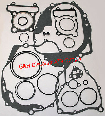 1994-2000 Yamaha 250 YFB250 Timberwolf COMPLETE FULL Motor Gasket Kit Set