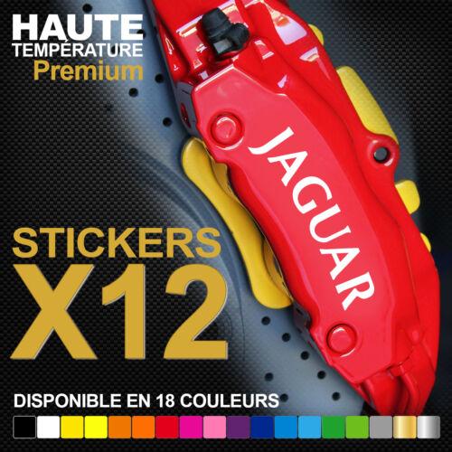 JAGUAR XE XF XJ Compatible Stickers autocollants adhésifs pour étrier de frein