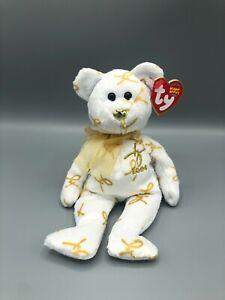 Ty Beanie Babies 2004 Signature Bear Plush Stuffed Animal