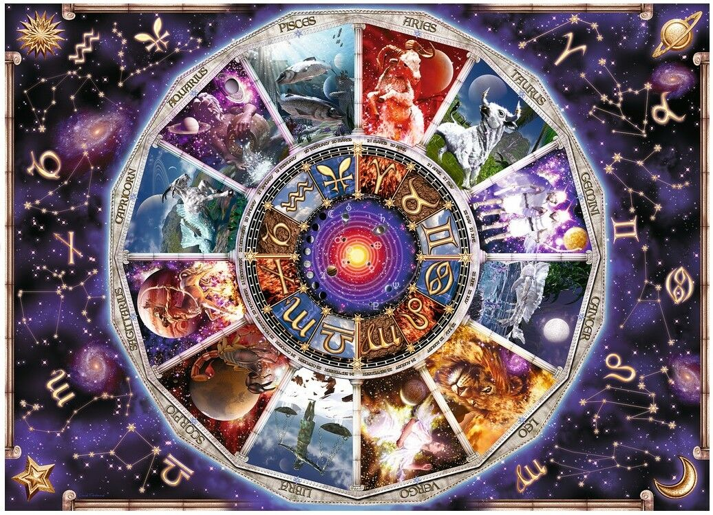 RAVENSBURGER 17805 ASTROLOGY ASTROLOGY ASTROLOGY THE ZODIAC 9000 PIECES JIGSAW PUZZLE Zodiaque 394a23