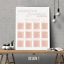 Personalised-Modern-Wedding-Seating-Plan-Planner-Table-Plans-Chart-A1-A2-A3 thumbnail 6