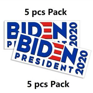 5pcs-Joe-Biden-President-2020-Election-Campaign-Democratic-Bumper-Stickers-Decal