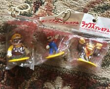 US Mario Party 4 Oirax Prize Mini Figure set 5 Wario Donkey Kong DK Super Bros