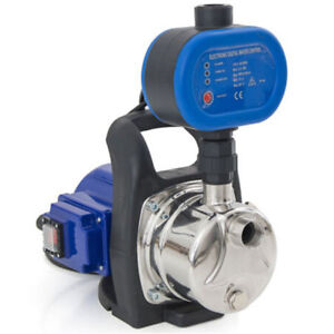 110v Shallow Well Electric Garden Water Pump Pressurized