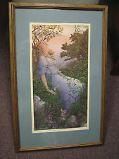 Barry Windsor Smith - Psyche - signed & numbered print, matted and framed