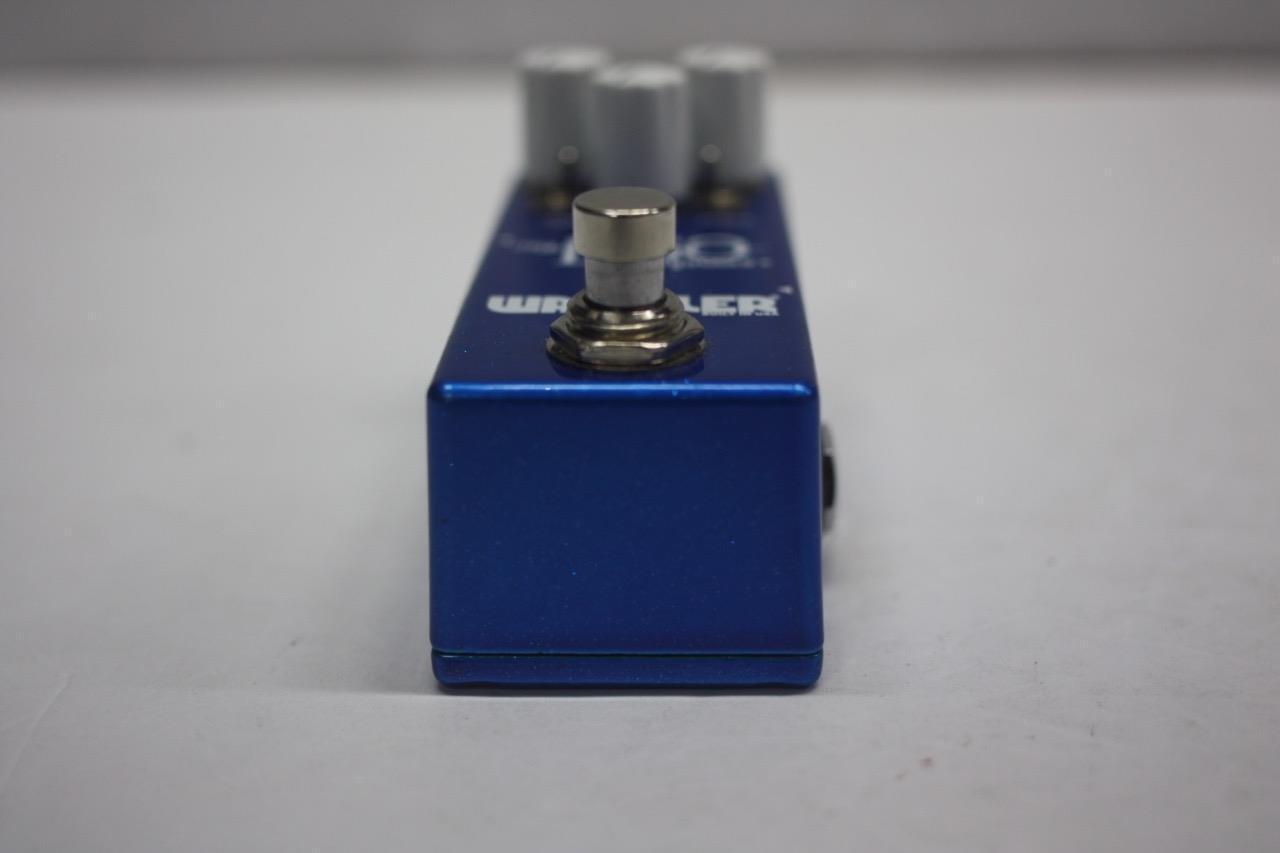 Wampler Wampler Wampler Mini Ego Blau Compressor Guitar Effects Pedal P-04645 -FULLY TESTED- 18c241