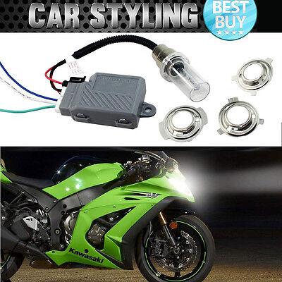 For Kawasaki 6000K Motorcycle Headlight Hi/Lo Beam Bi-Xenon HID Conversion Kit