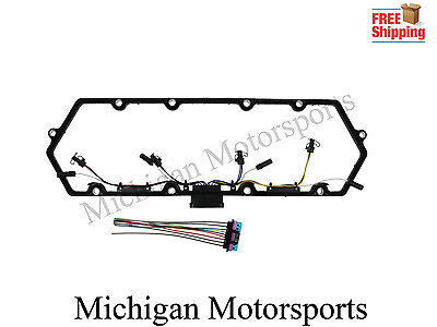 97-03 Diesel Valve Cover Gasket Injector /& Glow Plug Harness for Ford Truck 7.3L
