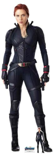 Endgame Official Lifesize Cardboard Cutout Black Widow from Marvel Avengers