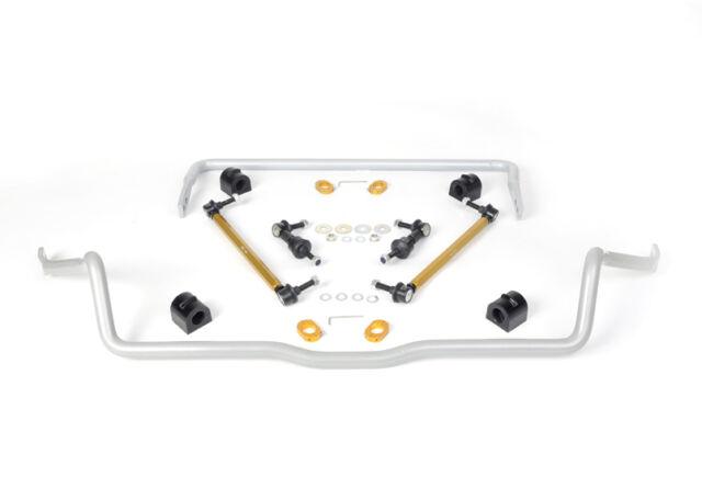 WHITELINE BFK003 Front & Rear Sway Bar Vehicle Kit FORD FOCUS LS, LT, LV, MK 2