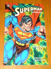 SUPERMAN DOOMSDAY HUNTER PREY BOOK 2 DC COMICS DAN JURGENS GRAPHIC NOVEL