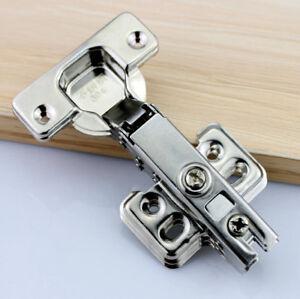 Steel Hydraulic Soft Close Full Overlay Damping Hinge Cabinet Door Hinges