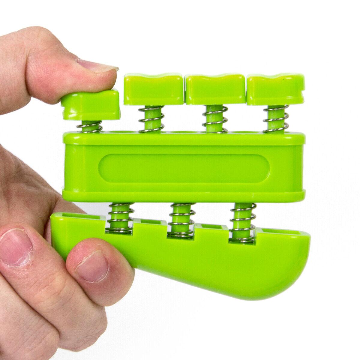 Portable Hand Finger Exerciser Grip Strengthener Guitar Bass Piano Trainer