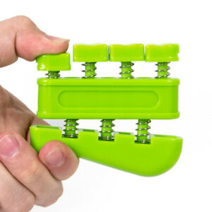 Finger Trainer Hand Grip Exerciser For Guitar Bass Piano Music Players F1C2
