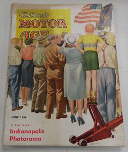 Chilton's Motor Age Magazine Indianapolis Photorama June 1956 040317nonr