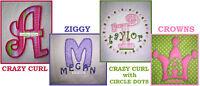 Alphabet Applique Embroidery Machine Designs Fonts 4 Sets Included Save A Bundle