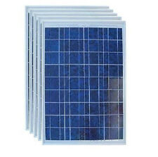 5 Pcs Pack Geoking 40W Polycrystalline Solar Panels