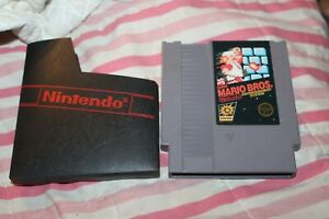 Super Mario Bros. (Nintendo Entertainment System) NES Authentic 3 Screw