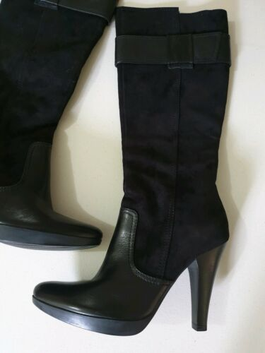 NEW BOOTS Womens Leather Suede Heels Winter Shoes sale