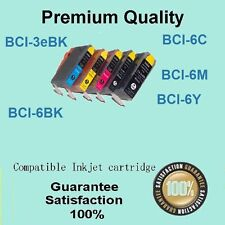10 X Compatible Canon BCI-3ebk 6C 6M 6Y ink for Canon i560 i6100 S6300 ip3000