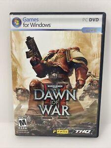 Warhammer 40k Dawn of War 2 PC DVD Video Game!
