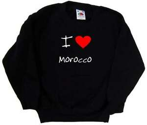 I-Love-Heart-Morocco-Kids-Sweatshirt