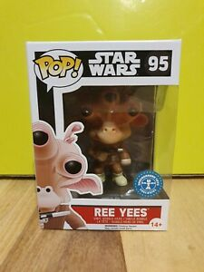 Funko-Pop-Star-Wars-95-Ree-Yees-Underground-Toys-Exclusive-Protector
