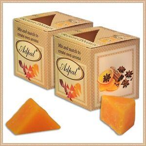 2 x Duftwachs Orange & Zimt | Aroma Duftkerze Schmelzwachs Wax Aromatic