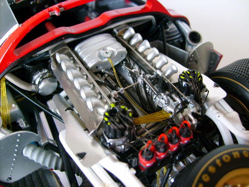 24 24 24 Vintage de Ferrari Race Sport Car Raro Exótico 12 GT F 43 Racer 1 18 Rojo Carrusel  Las ventas en línea ahorran un 70%.