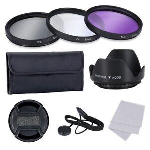 52mm Kit de Lentes Filtros Profesional Para Nikon Sony Samsung Fujifilm Penta NQ