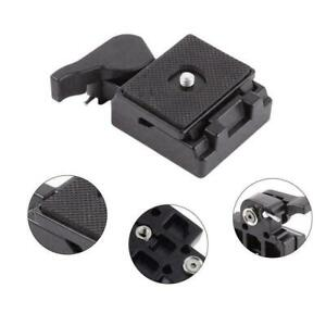 Quick-Release-Plate-Clamp-Adapter-For-Manfrotto-200PL-14-M8B9-System-Tripod-S8F0