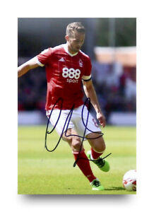 Chris-Cohen-Hand-Signed-6x4-Photo-Nottingham-Forest-Autograph-Memorabilia-COA