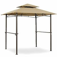 Garden Winds Grill Shelter Replacement Canopy For Model L-gz238pst-11, New, Free