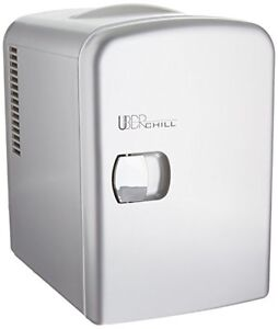 Uber-Appliance-UB-CH1-Uber-Chill-6-can-Mini-Fridge-GUNMETAL-OPEN-BOX-DEAL