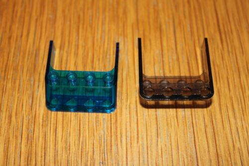 Lego 6238 transparent rauch dunkelblau Windschutz Windscreen 4x4x1  Auswahl 12