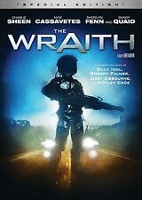 THE WRAITH (1986 Special Edition) Charlie Sheen  -  DVD - REGION 1 - Sealed