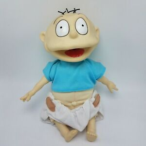 Rugrats-Talking-Tommy-Doll-Vintage-1996-Plush-Toy-Collectible-Gift-Ex-Condition