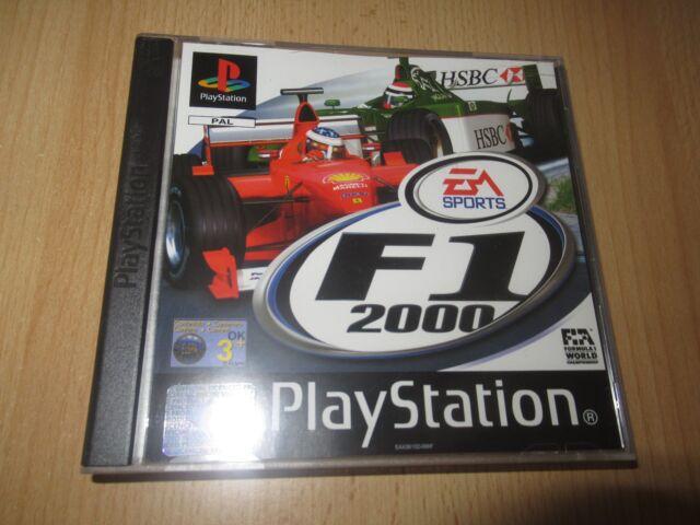 PS1 F1 2000 EA Sports mint collectors Playstation 1 UK PAL