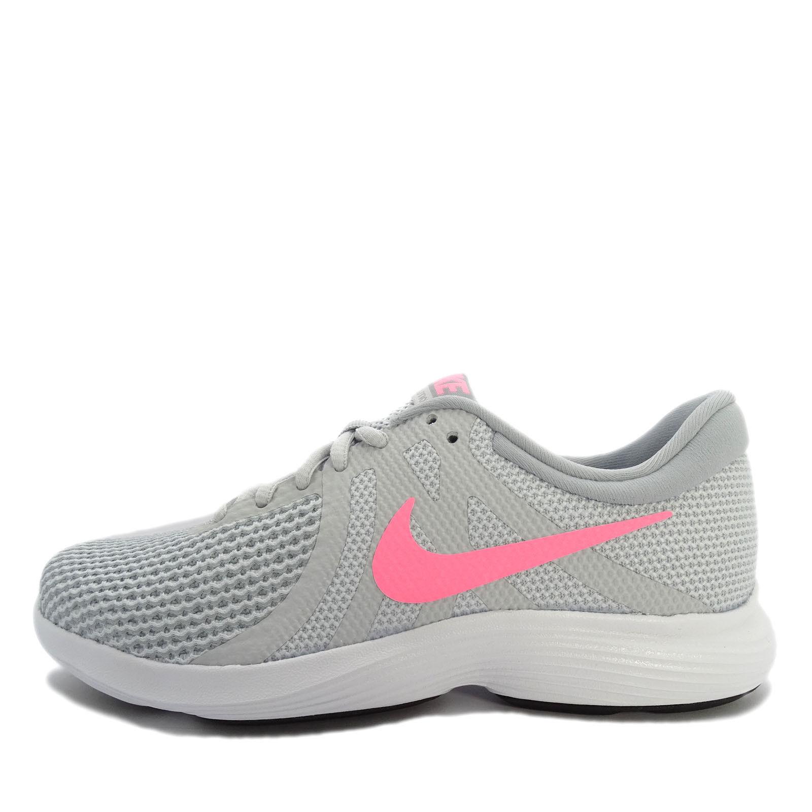 Nike rivoluzione 4 donne scarpe da corsa di platino / sunset - 39