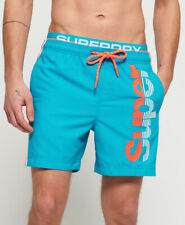Superdry Mens Superdry Mens State Volley Swim Shorts
