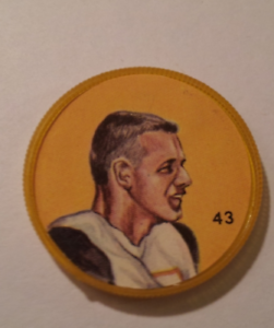 Nally-039-s-Chips-1963-CFL-Picture-Discs-Joe-Zuger-43-of-100-Rare